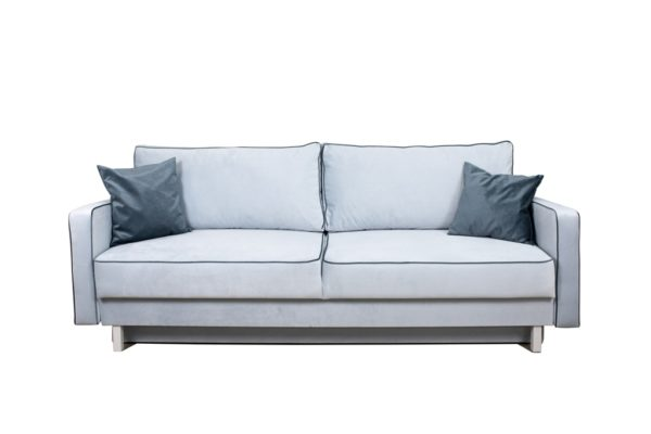 Прямой диван Парма серый