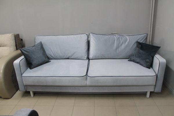 Серый диван Парма